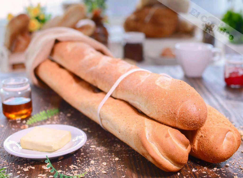 Baguette de tu ©panadería El Coquito