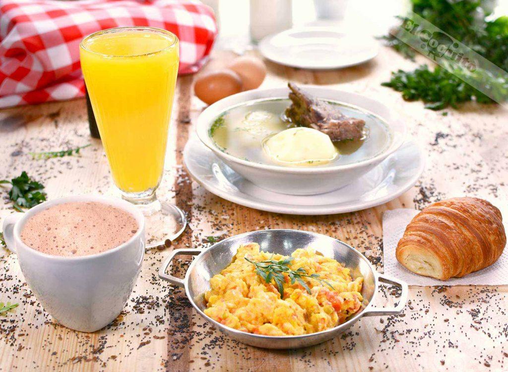 Desayunos ©panadería El Coquito