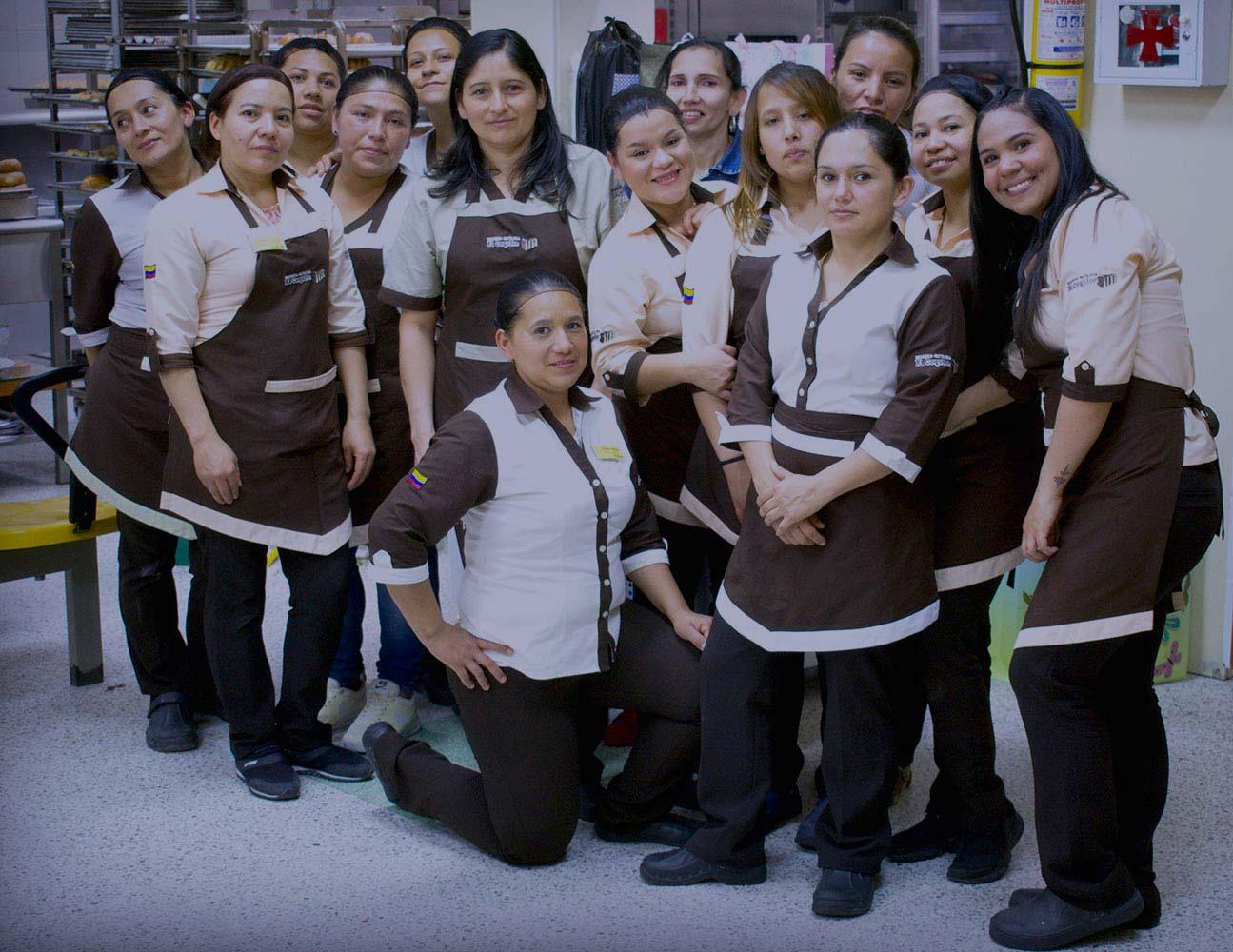 Colaboradoras ©panadería El Coquito